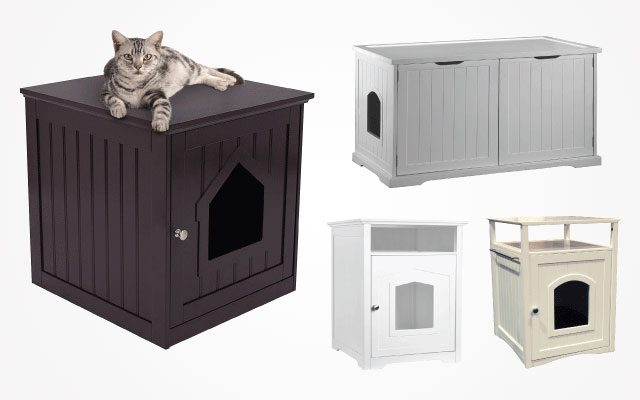 11 Best Cat Box Furniture Pieces That Never Be Out Of Date